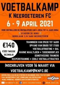 KNFC Paas-voetbalkamp 6-9/04/2021